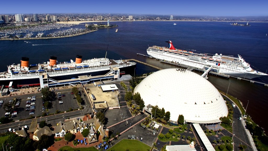 Queen Mary Dome, Port of Long Beach
