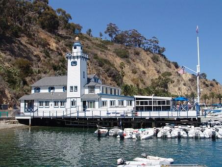 Avalon on Catalina Island near Long Beach
